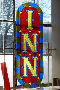 Acrylic Stained Glass From the Oregon Coast